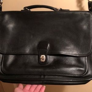 Men's Coach briefcase excellent condition